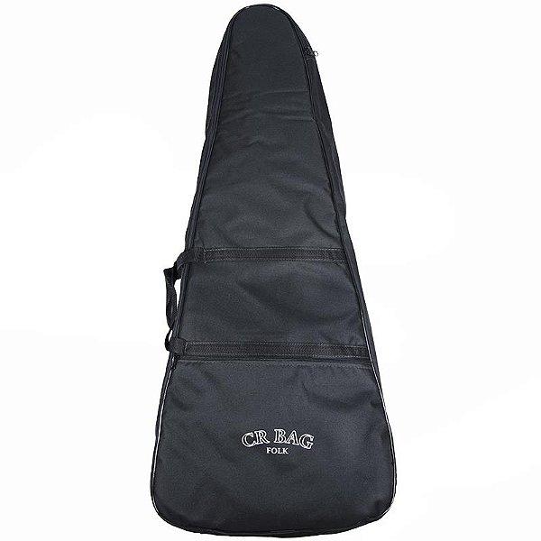 Capa Para Violão Folk Cr Bag Luxo