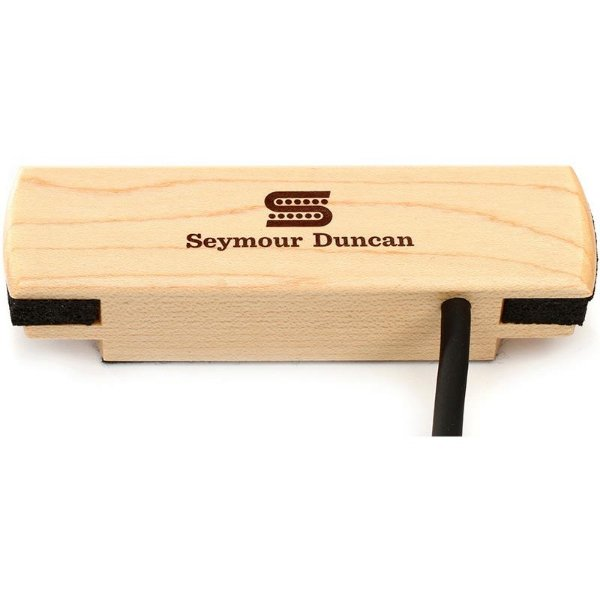 Captador Seymour Duncan Violão Woody Hum Cancelling Maple