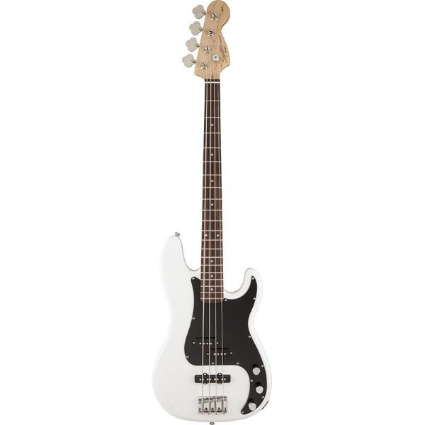 Contrabaixo Fender Squier Affinity Precision Jazz Bass Olympic White