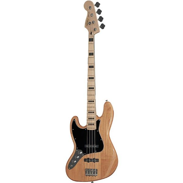 Contrabaixo Fender Squier Canhoto Vintage Modified Jazz Bass Natural