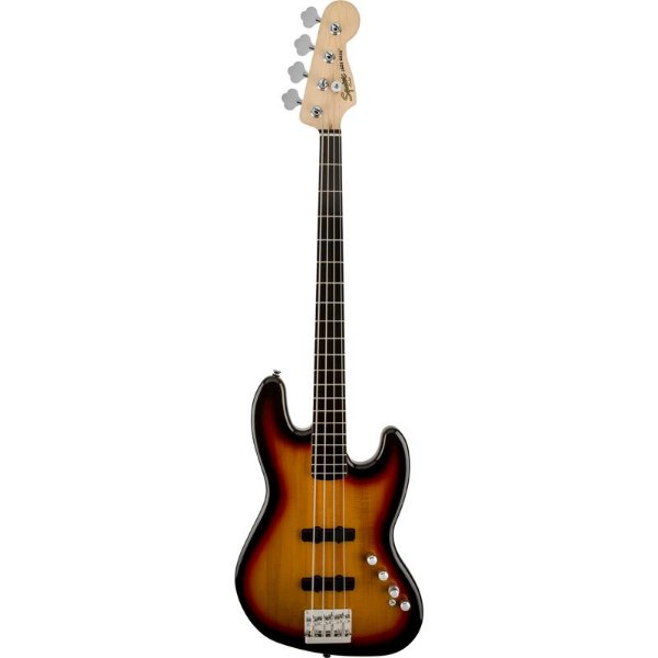 Contrabaixo Fender Squier Deluxe Jazz Bass IV Sunburst