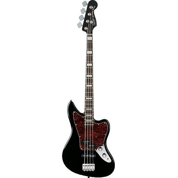 Contrabaixo Fender Squier Vintage Modified Jaguar Bass Preto