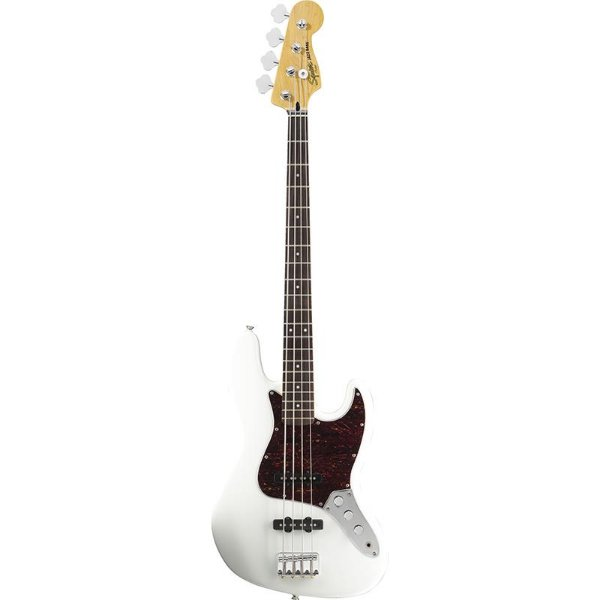 Contrabaixo Fender Squier Vintage Modified Jazz Bass Olympic White