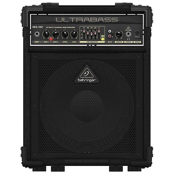 Cubo Amplificador Para Contrabaixo Behringer Ultrabass Bxl450
