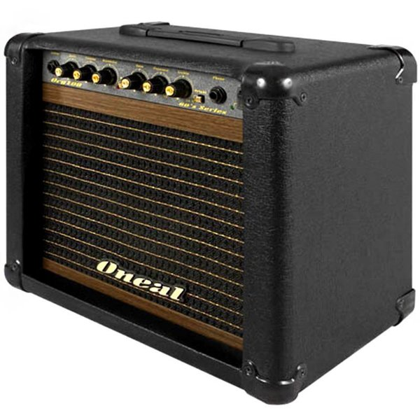 Cubo Amplificador Para Guitarra Oneal Ocg100 Preto