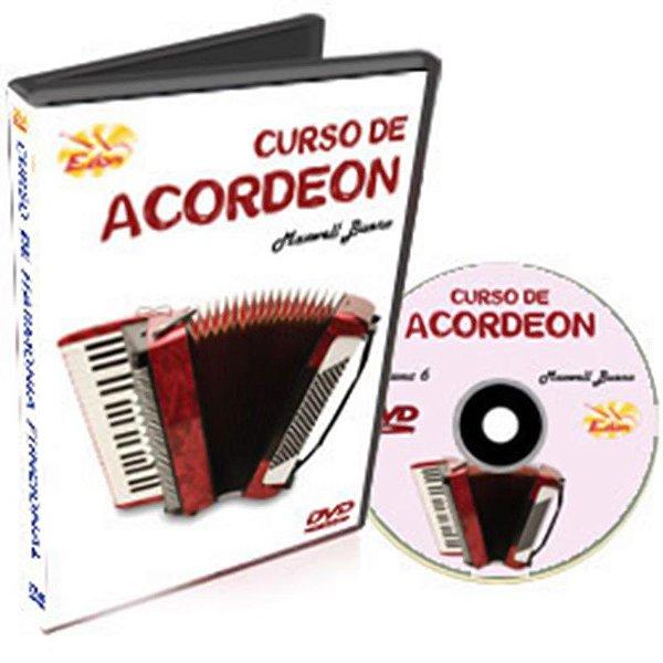 Curso DVD de Acordeon Iniciantes Vol 6 Edon
