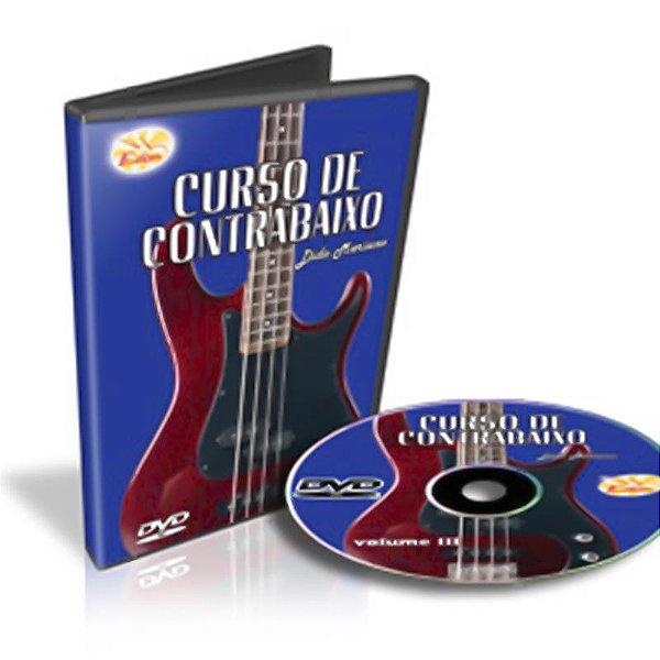 Curso DVD de Contrabaixo Vol 3 Edon