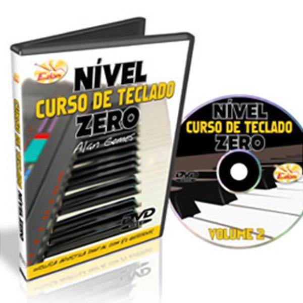 Curso DVD Teclado Nível Zero Vol 2 para Iniciantes Edon