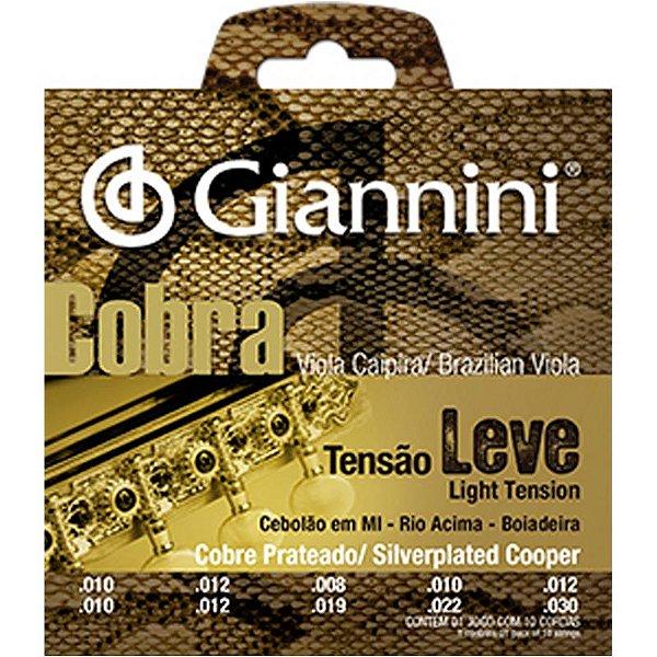 Encordoamento Giannini Cobra Para Viola Gesvl Leve