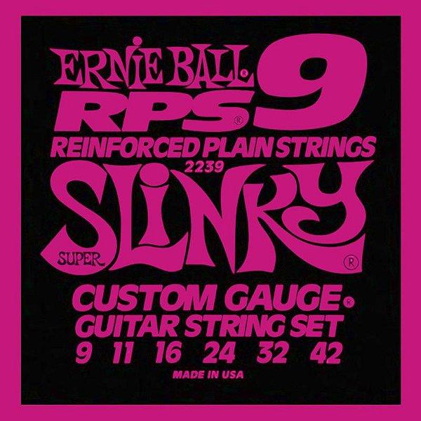 Encordoamento Guitarra 09 Ernie Ball Rps9 Super Slinky