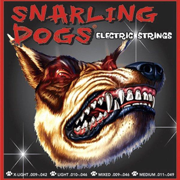 Encordoamento Para Guitarra D'andrea SDN09 Snarling Dogs 09