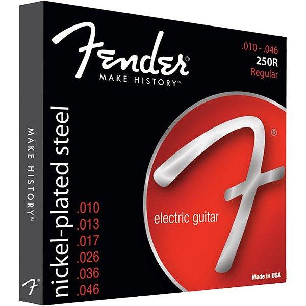 Encordoamento Para Guitarra Fender 010 Super 250r