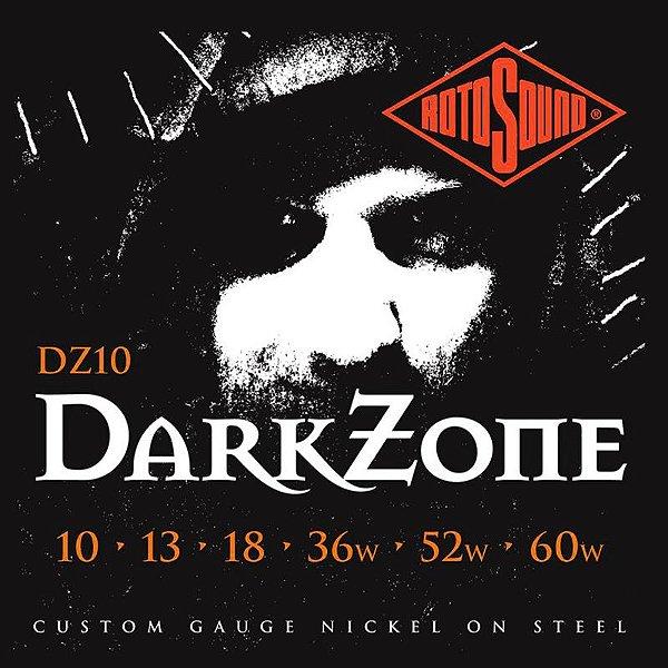 Encordoamento Rotosound Para Guitarra Darkzone Dz10 010