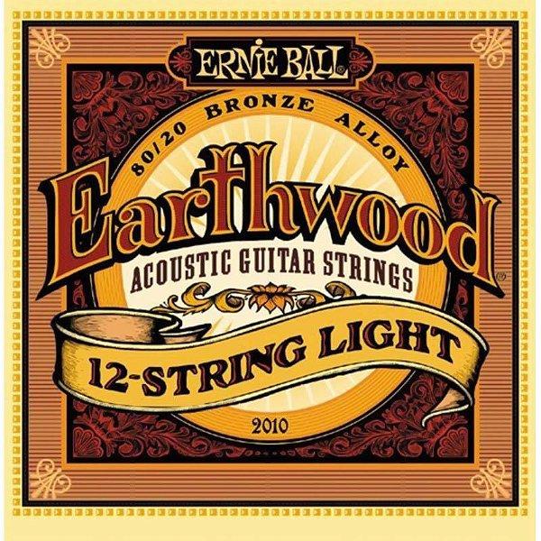 Encordoamento Violão 12 Cordas Aço 09 Ernie Ball 2010 Earthwood Light