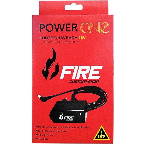Fonte Para Pedal Fire Power One 18V