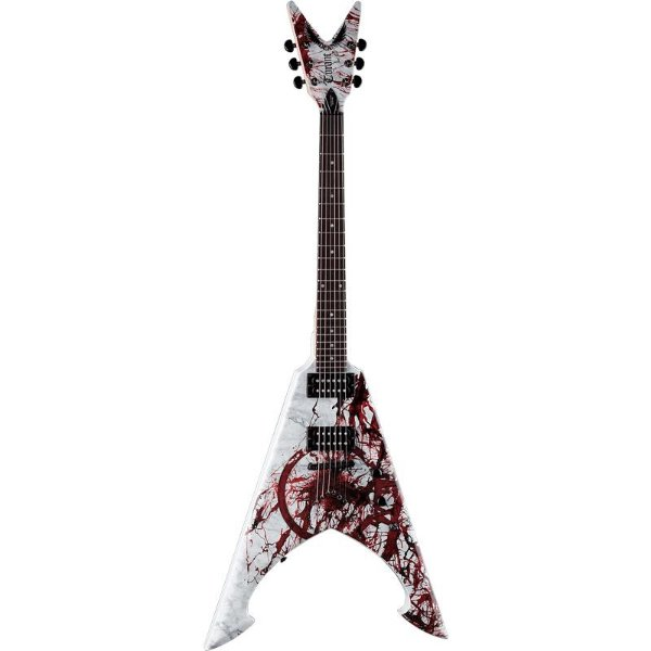 Guitarra Dean Signature Michael Amott Tyrant X Splatter