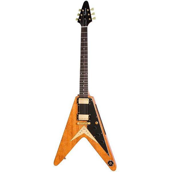 Guitarra Epiphone Flying V Korina Edição Limitada