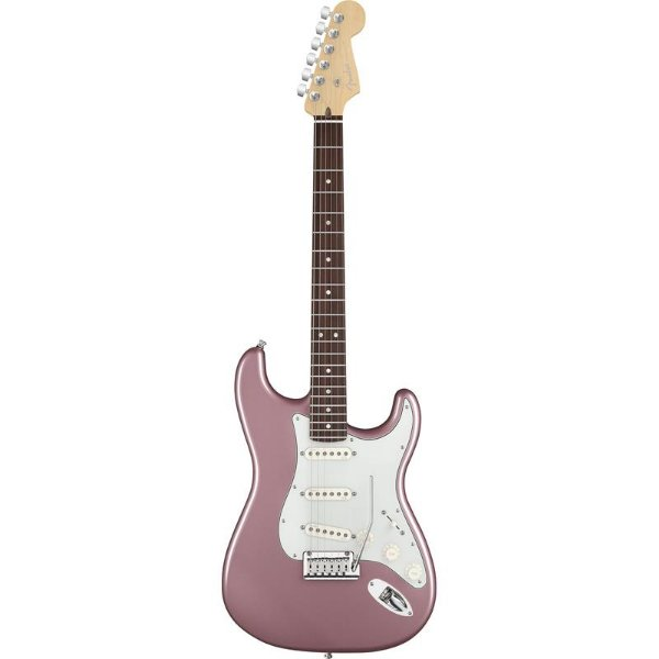 Guitarra Fender Americana Deluxe Stratocaster Rw Burgundy Mist