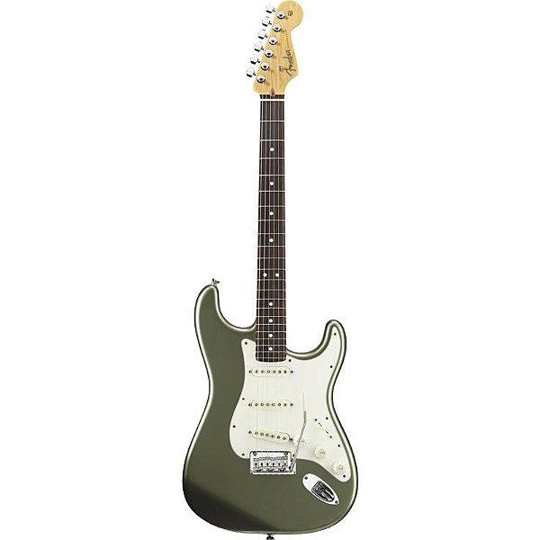 Guitarra Fender Americana Standard Stratocaster Rw Jade Pearl