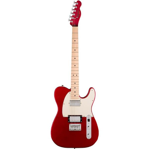 Guitarra Fender Squier Contemporary Telecaster HH Dark Metallic Red