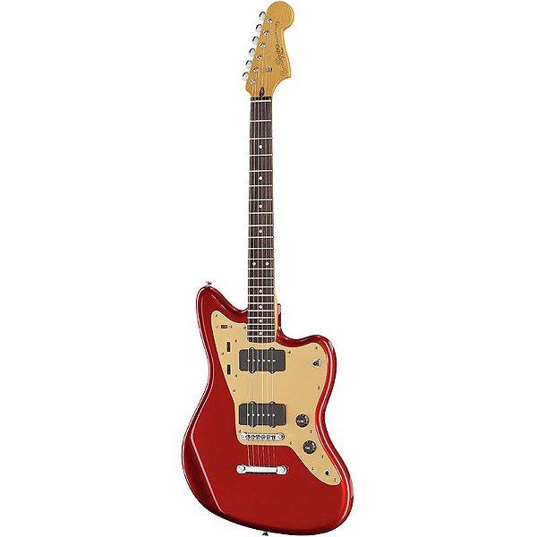 Guitarra Fender Squier Deluxe Jazzmaster St Stop Tailpiece Candy Apple Red