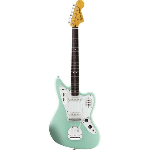 Guitarra Fender Squier Jaguar Vintage Modified Surf Green