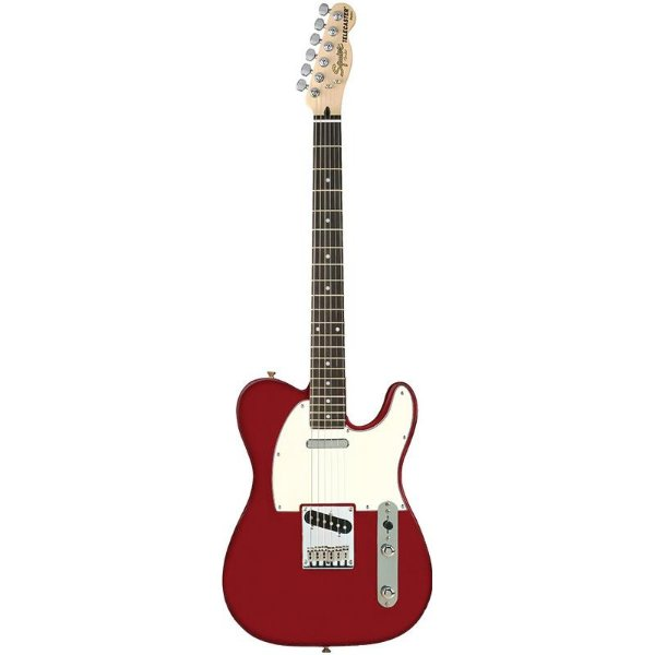 Guitarra Fender Squier Standard Telecaster Candy Apple Red