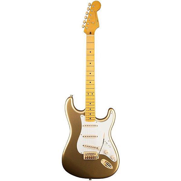 Guitarra Fender Squier Stratocaster Classic Vibe 60th Aztec Gold