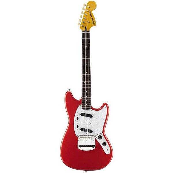 Guitarra Fender Squier Vintage Modified Mustang Fiesta Red