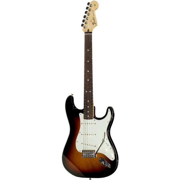 Guitarra Fender Standard Stratocaster Mexicana Brown Sunburst