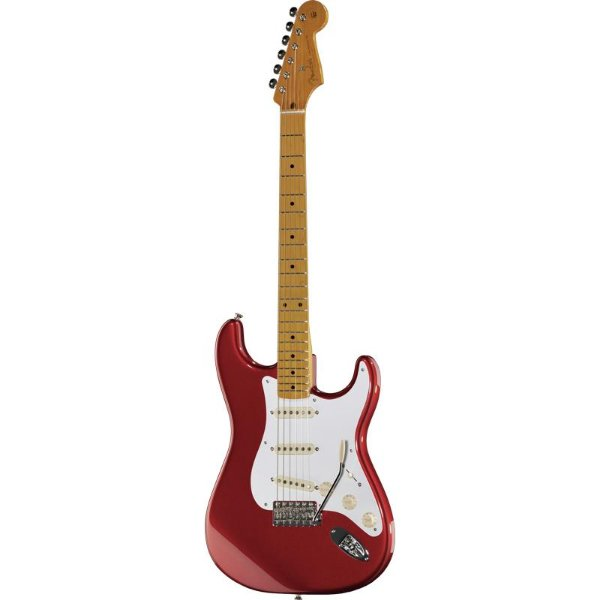 Guitarra Fender Stratocaster 50s Lacquer Mn Candy Apple Red