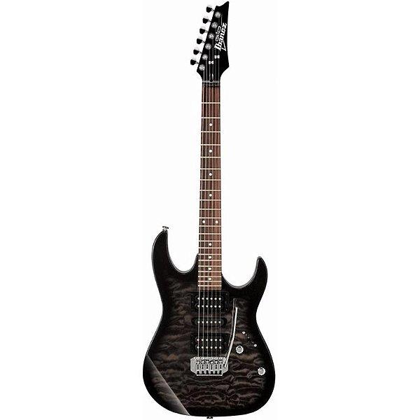 Guitarra Ibanez Grx70qa Tks Transparent Black Burst