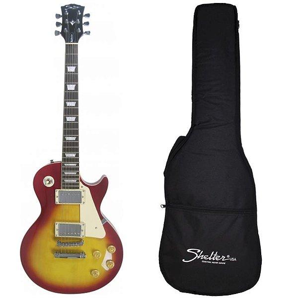 Guitarra Les Paul Shelter Nashville 305 Cs Cherry Sunburst Com Bag