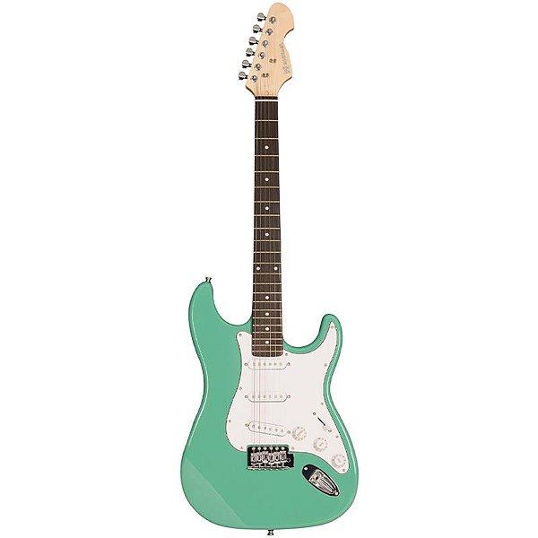 Guitarra Michael Stratocaster Gm217n Light Green