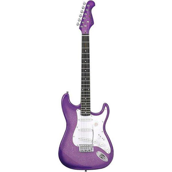 Guitarra Stratocaster Gypsy Rose Gre1k-Cpp Turbo Roxa