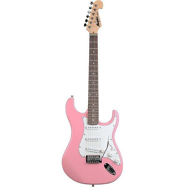 Guitarra Stratocaster Memphis Tagima Mg22 Rosa