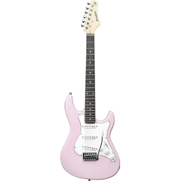 Guitarra Stratocaster Strinberg Egs216 Rosa
