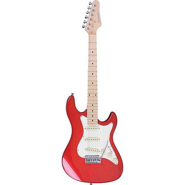 Guitarra Stratocaster Strinberg Sts100 Vermelha