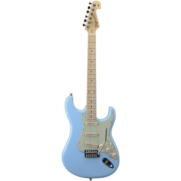 Guitarra Stratocaster Tagima T635 Hand Made In Brazil Azul Pastel