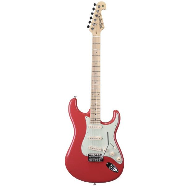 Guitarra Stratocaster Tagima T635 Hand Made In Brazil Fiesta Red