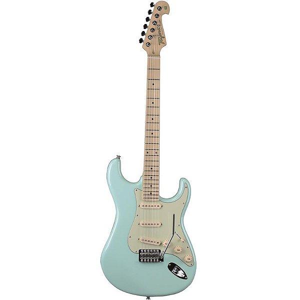 Guitarra Stratocaster Tagima T635 Hand Made In Brazil Verde Pastel