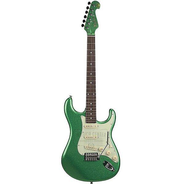 Guitarra Tagima Hand Made In Brazil T635 Edição Limitada Verde Metálico