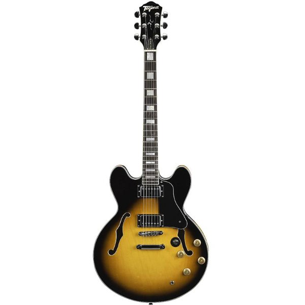 Guitarra Tagima Special Semi Acústica Blues 3000 Sunburst Com Hard Case