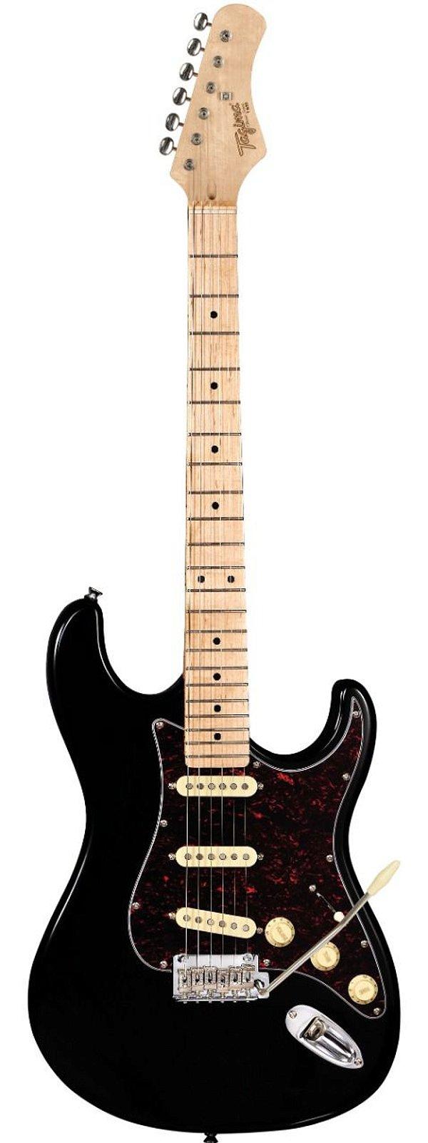 Guitarra Tagima Stratocaster Hand Made T-635 Classic Preta