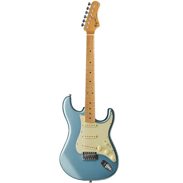 Guitarra Tagima Stratocaster Woodstock Series Tg530 Azul Metálico