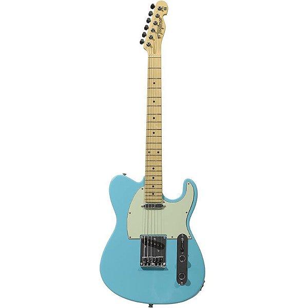 Guitarra Tagima T405 Telecaster Hand Made In Brazil Azul Pastel