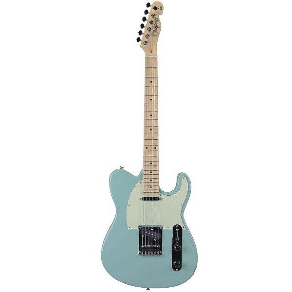 Guitarra Tagima T405 Telecaster Hand Made In Brazil Verde Pastel