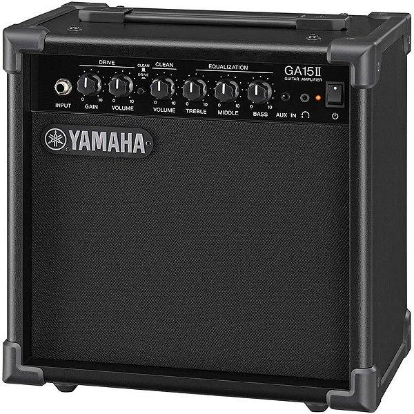 Cubo Amplificador Guitarra Yamaha GA15II 15W Clean & Drive