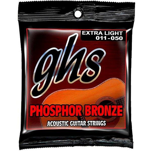 Encordoamento GHS Violão Aço 0.11 Phosphor Bronze S315