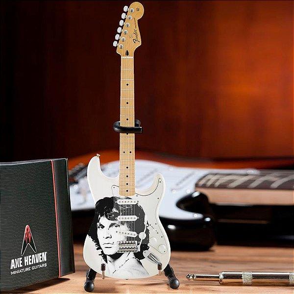 GUITARRA FENDER MINIATURA AXE HEAVEN JIM MORRISON JM-001 RADIO DAYS